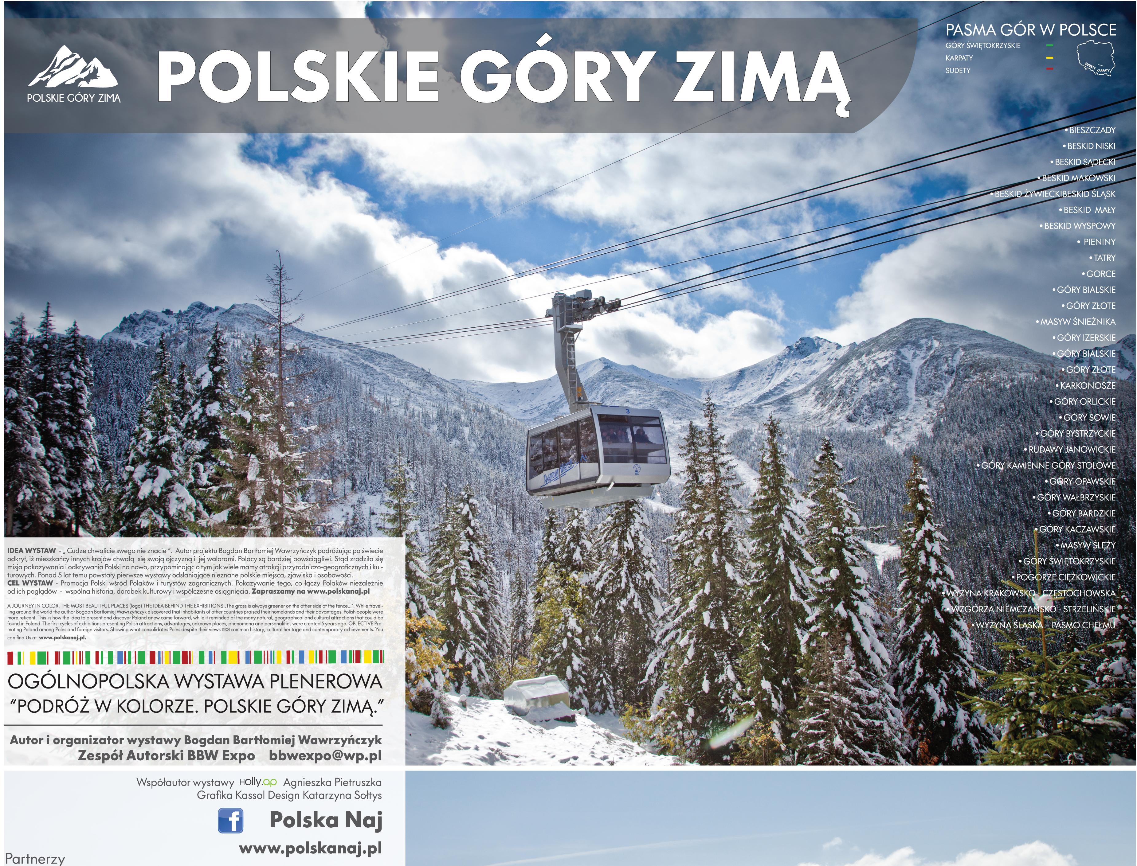Polskie Góry Zimą