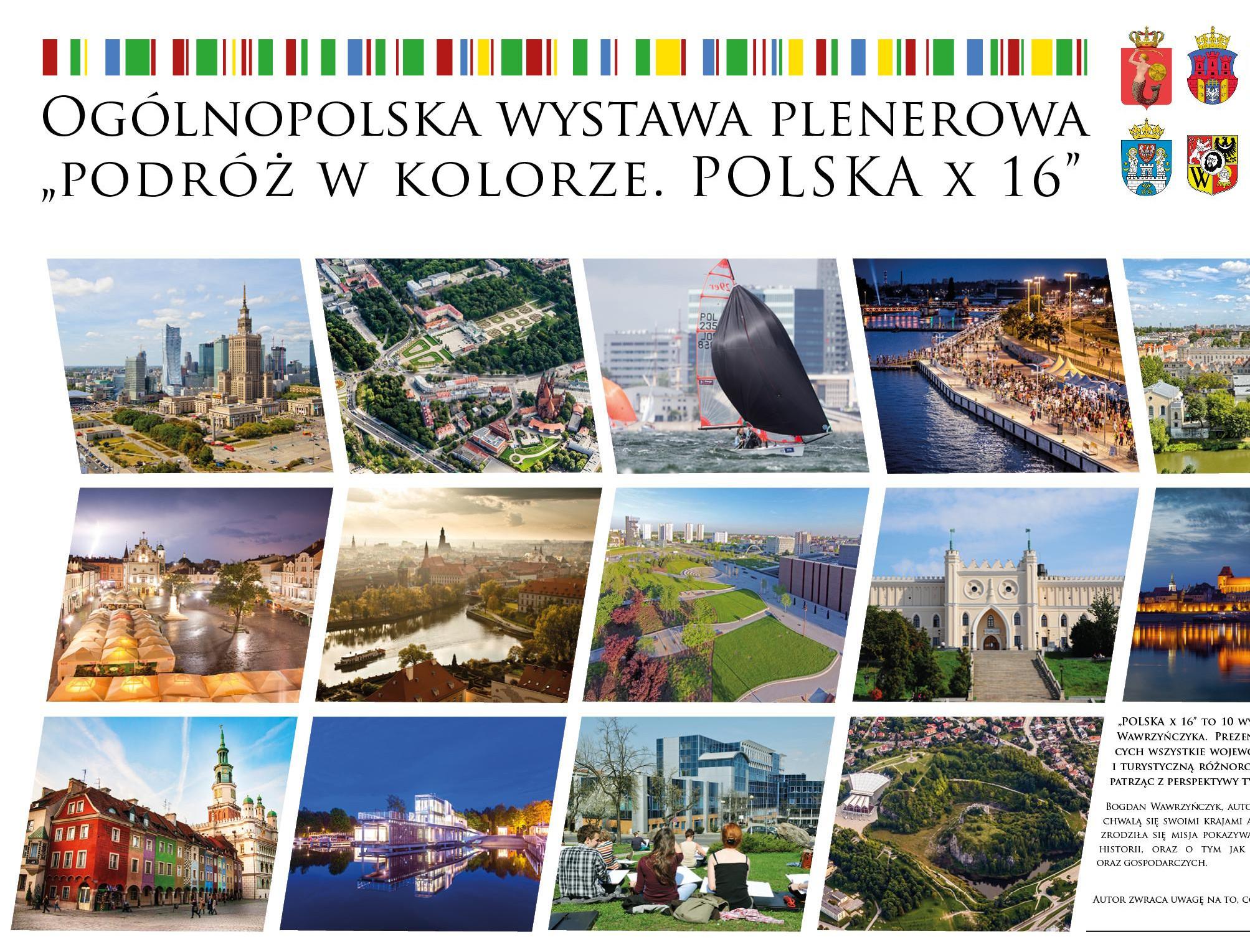 Polska x16 - Najpiękniejsze miasta